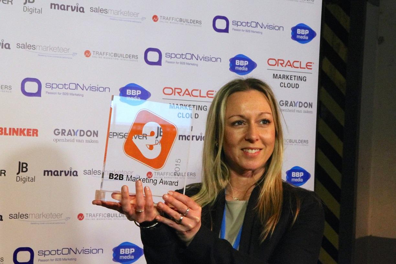 Wat de B2B Marketing Award je oplevert